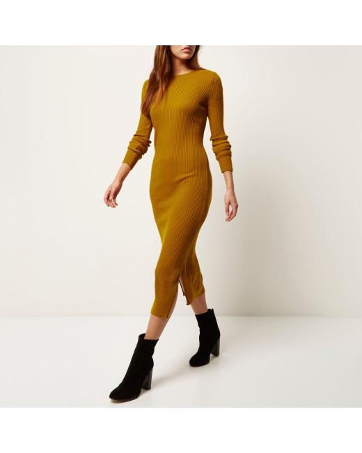 river-island-yellow-mustard-yellow-ribbed-bodycon-midi-dress-product-1-736053148-normal
