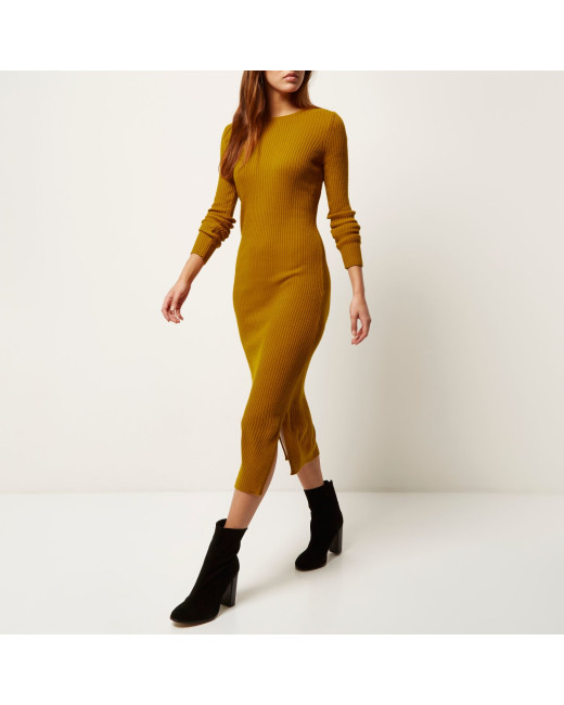 river-island-yellow-mustard-yellow-ribbed-bodycon-midi-dress-product-1-736053148-normal
